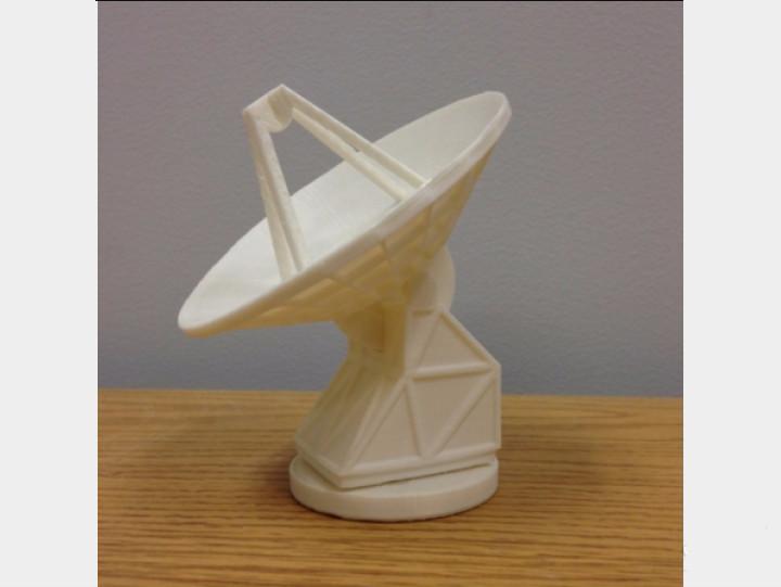 雷达3d模型