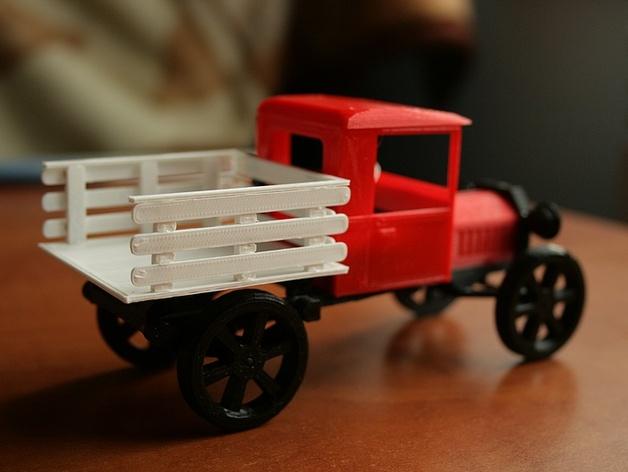 老平板卡车模型