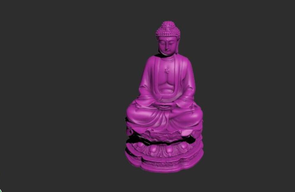 石庙佛陀模型