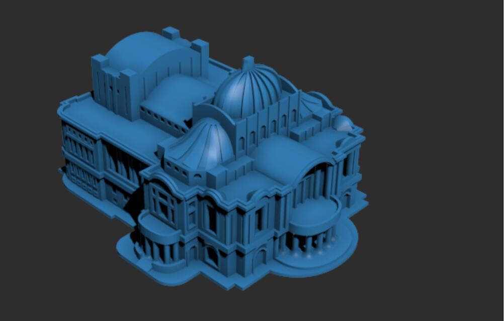 墨西哥宫建筑模型